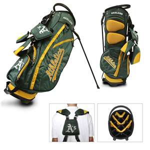 Oakland Athletics A's Golf Fairway Stand Bag 96928