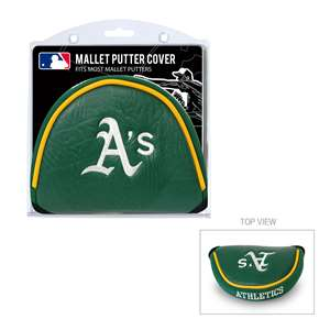 Oakland Athletics A's Golf Mallet Putter Cover