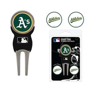 Oakland Athletics A's Golf Signature Divot Tool Pack