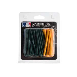 Oakland Athletics A's Golf 50 Tee Pack 96955