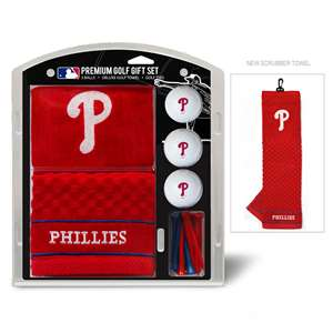 Philadelphia Phillies Golf Embroidered Towel Gift Set