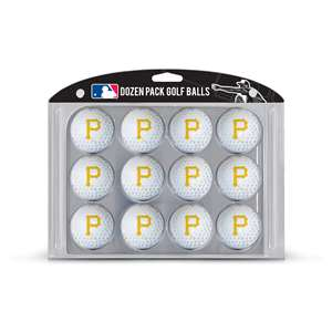 Pittsburgh Pirates Golf Dozen Ball Pack