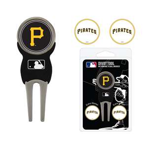 Pittsburgh Pirates Golf Signature Divot Tool Pack  97145