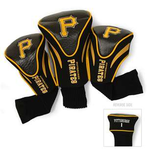 Pittsburgh Pirates Golf 3 Pack Contour Headcover