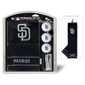 San Diego Padres Golf Embroidered Towel Gift Set