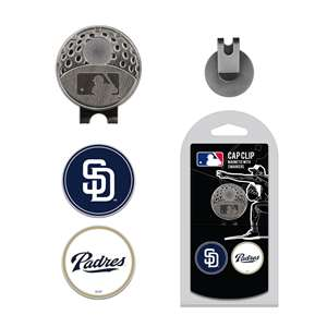 San Diego Padres Golf Cap Clip Pack