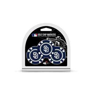 San Diego Padres Golf 3 Pack Golf Chip