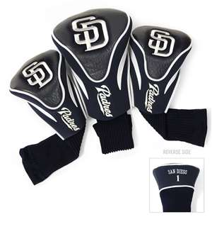San Diego Padres Golf 3 Pack Contour Headcover