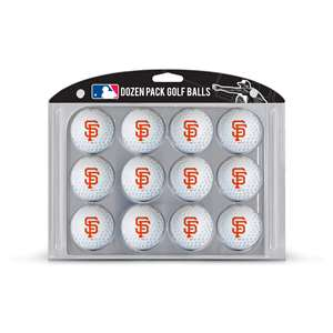 San Francisco Giants Golf Dozen Ball Pack