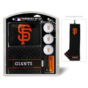 San Francisco Giants Golf Embroidered Towel Gift Set 97320