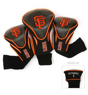 San Francisco Giants Golf 3 Pack Contour Headcover