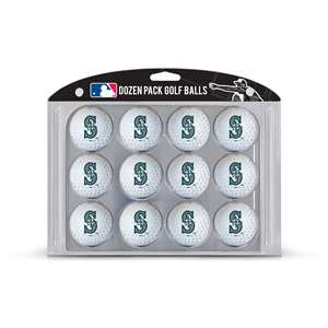 Seattle Mariners Golf Dozen Ball Pack