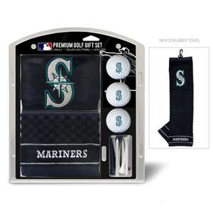 Seattle Mariners Golf Embroidered Towel Gift Set
