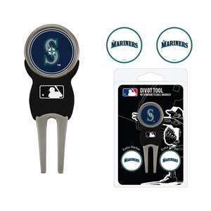 Seattle Mariners Golf Signature Divot Tool Pack