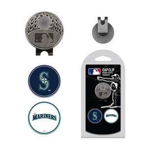 Seattle Mariners Golf Cap Clip Pack
