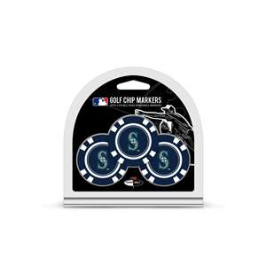 Seattle Mariners Golf 3 Pack Golf Chip