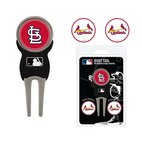 St. Louis Cardinals Golf Signature Divot Tool Pack  97545