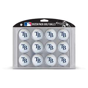 Tampa Bay Rays Golf Dozen Ball Pack