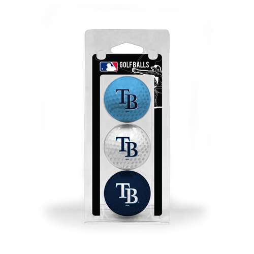 Tampa Bay Rays Golf 3 Ball Pack