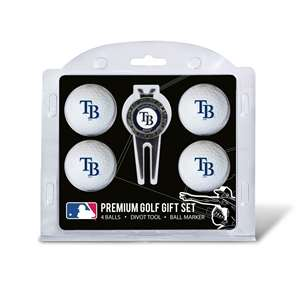 Tampa Bay Rays Golf 4 Ball Gift Set