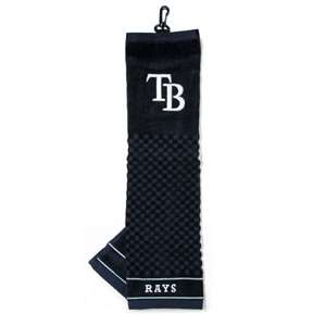 Tampa Bay Rays Golf Embroidered Towel