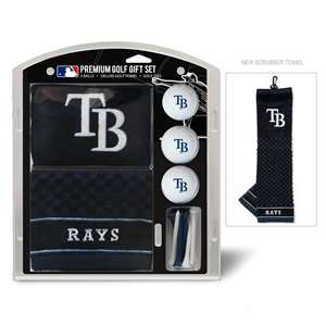 Tampa Bay Rays Golf Embroidered Towel Gift Set