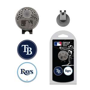 Tampa Bay Rays Golf Cap Clip Pack