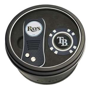 Tampa Bay Rays Golf Tin Set - Switchblade, Golf Chip