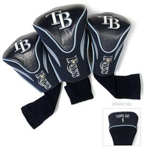 Tampa Bay Rays Golf 3 Pack Contour Headcover