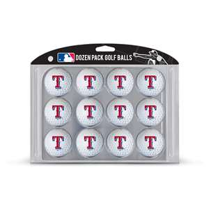 Texas Rangers Golf Dozen Ball Pack