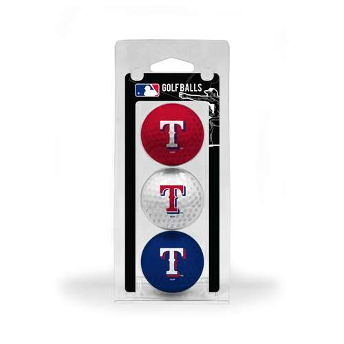 Texas Rangers Golf 3 Ball Pack