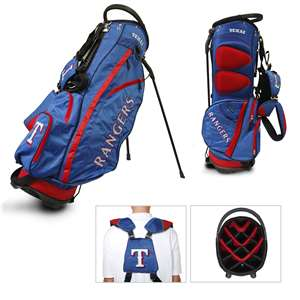 Texas Rangers Golf Fairway Stand Bag