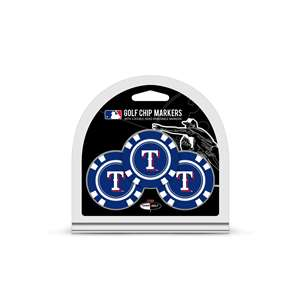 Texas Rangers Golf 3 Pack Golf Chip