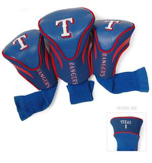 Texas Rangers Golf 3 Pack Contour Headcover