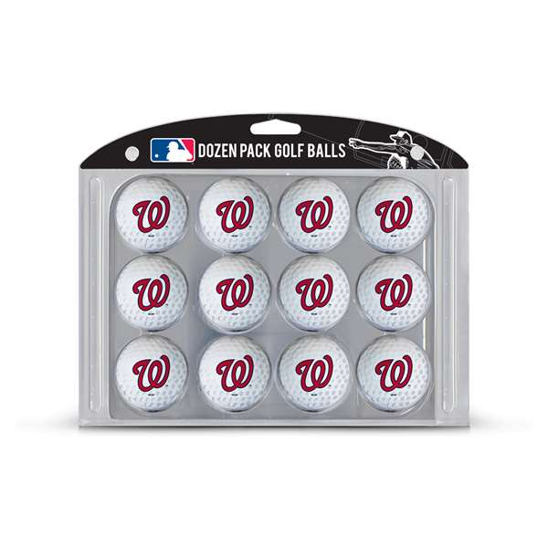 Washington Nationals Golf Dozen Ball Pack 97903