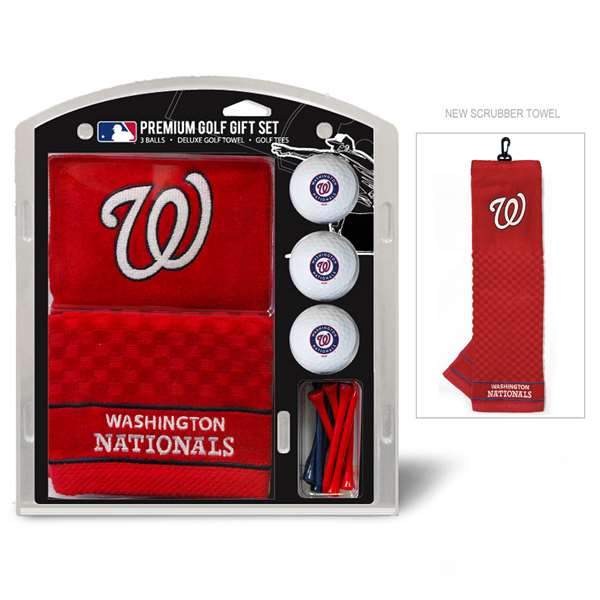 Washington Nationals Golf Embroidered Towel Gift Set 97920