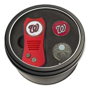 Washington Nationals Golf Tin Set - Switchblade, Cap Clip, Marker 97957