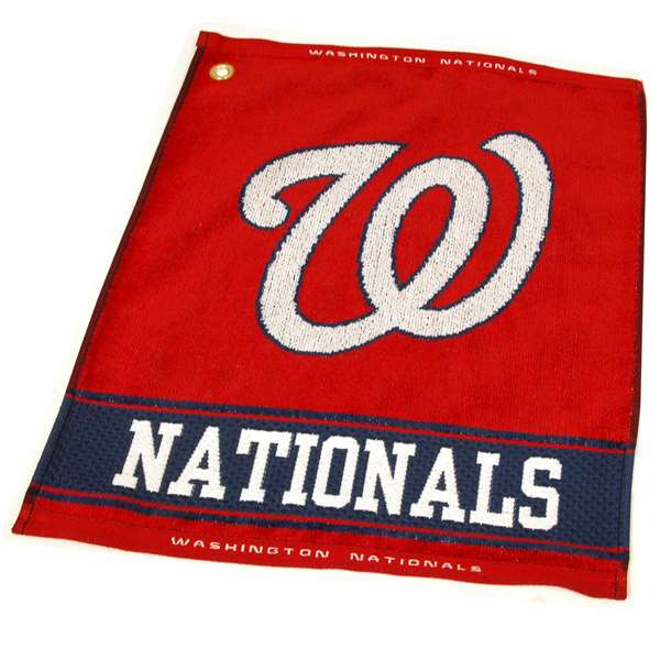 Washington Nationals  Jacquard Woven Golf Towel