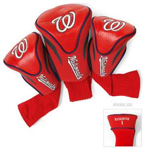 Washington Nationals Golf 3 Pack Contour Headcover 97994