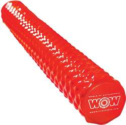 WOW WOW Dipped Foam Pool Noodle - Red  Towable Lake Float