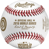 Chicago Cubs 2016 World Series Champions Rawlings Baseball with Display Cube
