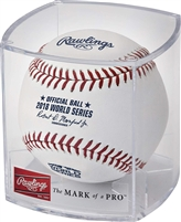 Rawlings 2018 World Series Baseball Retail Cubed WSBB18-R Baseballs (1 Dozen)