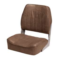 Wise Low Back Fishing Boat Seat Brown