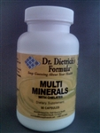 Multi-Minerals w/Chelates--new