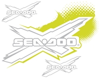 Sea-Doo X Package Decal