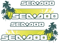 Sea-Doo Tropical Decal
