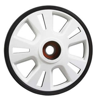 Lightweight Wheel - 141 mm - Black, Skidoo part number 503192794
