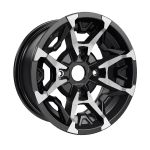 Can-Am Outlander X mr and Defender Rim - Black and machined | 705401848