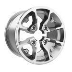 "Can-Am 14"" Rim - Rear - Silver with clear coat 