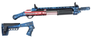 "NEW GEN 2! DUKE III ULTRA 12GA 18.5"" BRL PUMP ACTION NON NFA FIREARM USA CERAKOTE USA"